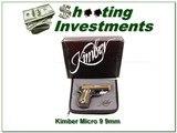 Kimber Micro 9mm NWTF NIC