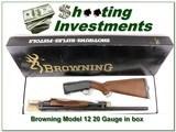 Browning Model 12 20 nice wood ANIB
