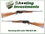Browning BLR 308 early 1966 USA made by TRW MINT! - 1 of 4