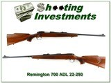 Remington 700 ADL early 22-250 Rem Exc Cond!