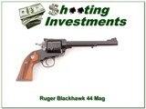 Ruger Super Blackhawk Bisley 44 Mag 7.5in Blued Exc Cond