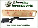 New England Firearms Handi Rifle 223 Rem in box! - 1 of 4
