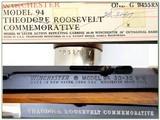 Winchester 94 Theodore Roosevelt 30-30 NIB! - 4 of 4