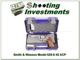Smith & Wesson 625-8 Jerry Miculek (JM) 4in 45 ACP