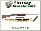 Remington 11-87 Sporting Clays 12 Ga 2 barrels