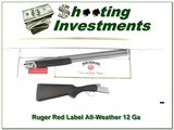 Ruger Red Label All-Weatherby Stainless 28in in BOX!