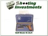 Smith & Wesson Model 46 22LR 7in in box!