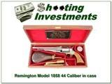 Remington Model 1858 44 Caliber Chiefs of Police commemorative - 1 of 4