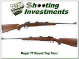 Ruger 77 Red Pad Round Top in hard to find 7mm Light Sporter - 1 of 4