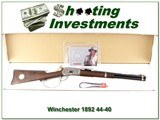 Winchester 1892 John Wayne High Grade 44-40 NIB - 1 of 4