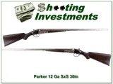 Parker GH 12 Ga all original 30in barrels F & M - 1 of 4