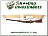 Winchester 73 1873 Navy Grade 4 357 Mag NIB - 1 of 4