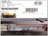 Winchester 73 1873 Navy Grade 4 357 Mag NIB - 4 of 4