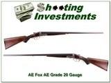 AH Fox AE Grade 20 Gauge