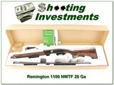 Remington 1100 G3 20 Ga NTWF Wild Turkey ANIB - 1 of 4