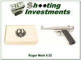 Ruger Mark I 1 of 5000 Bill Ruger Commemorative 22LR As New - 1 of 4