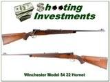 Winchester Model 54 1935 RARE 22 Hornet Supergrade!