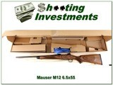 Mauser M12 German made 6.5 x 55 unfired in box - 1 of 4