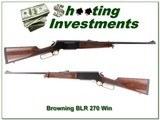Browning BLR Model 81 270 Win