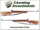 Winchester Model 75 1947 22 LR Target gun 3 magazines