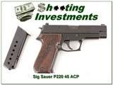 Sig Sauer P220 West German 45 ACP 2 Magazines Exc Cond