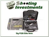 Sig Sauer 226 Elite 9mm NIB w/ Centerfire X-Change Kit in 9mm