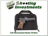 Colt Series 70 Government Model in 9mm/38 Super