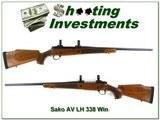 Sako AV Deluxe Left Handed 338 Win Mag