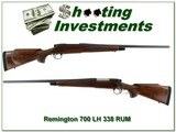 Remington 700 LH BDL in 338 RUM