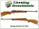 Savage Anschutz Model 141 22 LR