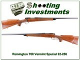 Remington 700 Varmint Special 22-250 Remington