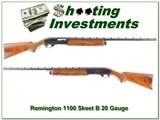 Remington 1100 Skeet-B 20 Gauge