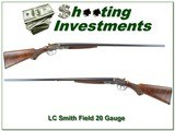L.C. Smith 20 Gauge (1913) Field Grade rare 30in barrels!