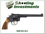 Smith & Wesson 48-4 22 Mangum 8 3/8in Exc Cond!