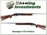 Remington 11-48 410 bore 25in Modified! - 1 of 4