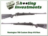 Remington 700 Custom Shop 416 Rem Mag