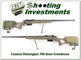 Remington 700 6mm Creedmoor Target custom