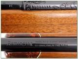 Remington 541S Custom Sporter engraved 22LR Rifle near new - 4 of 4