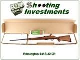 Remington 541S Custom Sporter engraved 22LR Rifle near new - 1 of 4