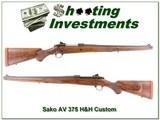 Sako AV Mannlicher Custom 375 H&H - 1 of 4