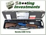 Beretta A400 XCEL Walnut Sporting Blue receiver ANIC 12 Ga - 1 of 4