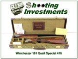 Winchester 101 Quail Special 410 bore in case - 1 of 4
