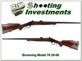 Browning Model 78 had to find 25-06 26in Heavy Barrel - 1 of 4