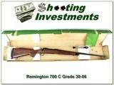Remington 700 C Grade Custom Shop 30-06 NIB!