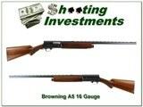 Browning A5 1949 Belgium 16 Gauge Exc Cond! - 1 of 4