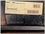 Browning 1885 Traditional Hunter in 45 LC NIB - 4 of 4