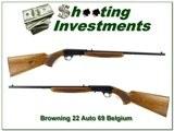 Browning 22 Auto 69 Belgium nice!