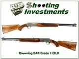 Browning BAR Grade II 22 Semi-Auto