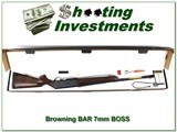 Browning BAR Safari II 7mm Rem BOSS in box!