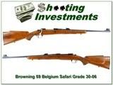 Browning Safari Grade 59 Belgium 30-06